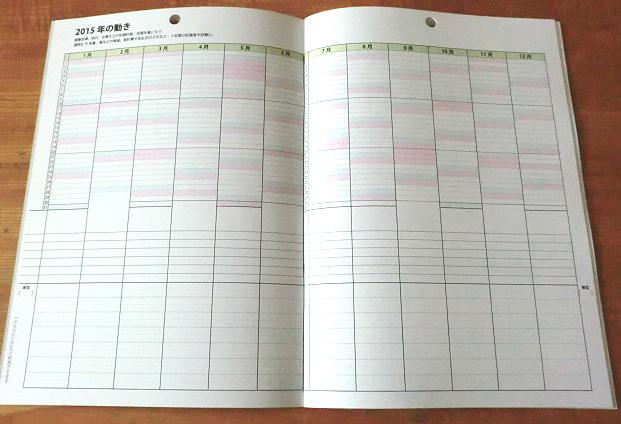 カレンダーノート2015発売開始しました!