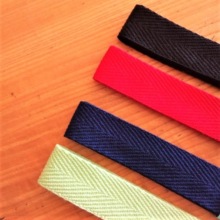 エピペンポーチ型紙の綾テープ種類